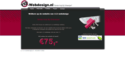 Preview of 112-webdesign.nl